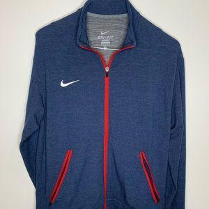 Nike full Zip Dri fit Jacket